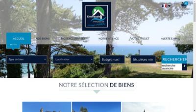 Site internet de Emeraude Immobilier