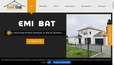 Site internet de Emi'Bat