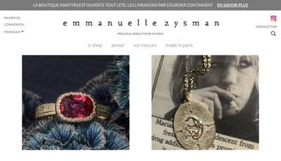 Site internet de Emmanuelle Zysman