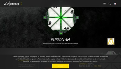 Site internet de Emmegi France