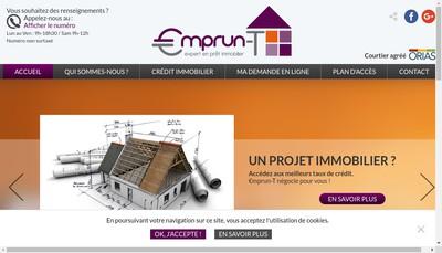 Site internet de Janin Credit Expert