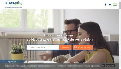 Site internet de Empruntis l'Agence Nantes Est