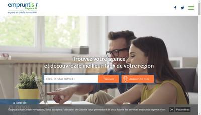 Site internet de Empruntis l'Agence