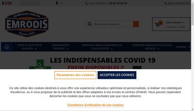Site internet de Groupe Emrodis