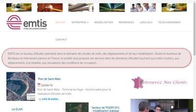 Site internet de Emtis