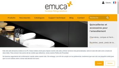 Site internet de Emuca SARL