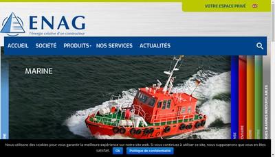 Site internet de Enag