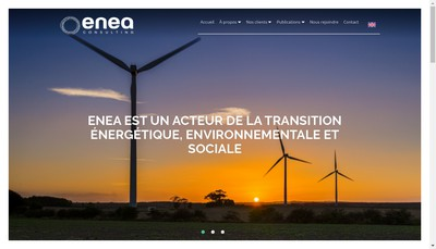 Site internet de Enea Team