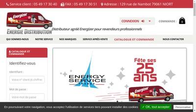 Site internet de Energies D