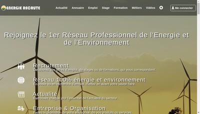 Site internet de Jobenergies