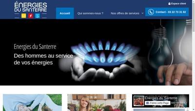 Site internet de Energies du Santerre