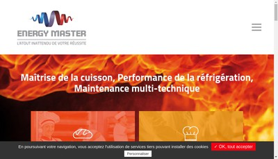 Site internet de Energy Master