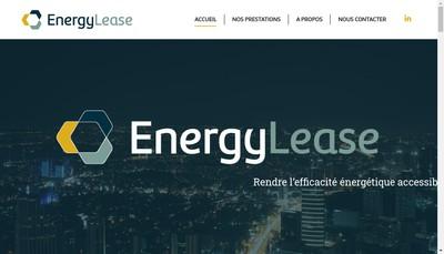 Site internet de Energylease
