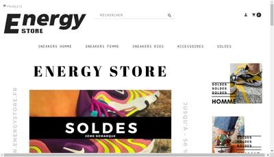 Site internet de Energy Store