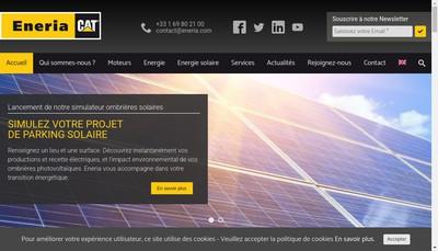 Site internet de Eneria