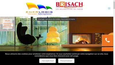 Site internet de Enerlogis