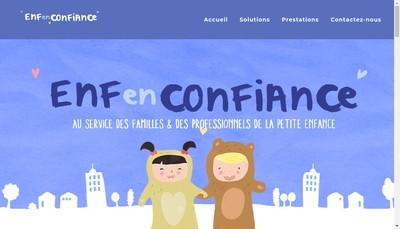 Site internet de Enfenconfiance
