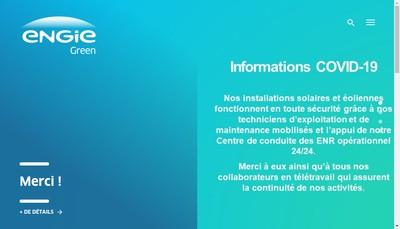 Site internet de La Compagnie du Soleil 21