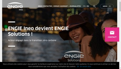 Site internet de Engie Solutions