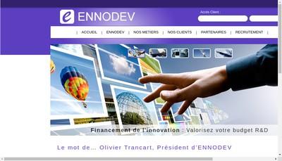 Site internet de Ennodev