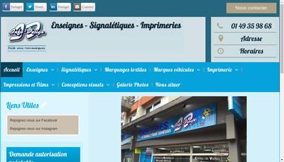 Site internet de Shop Info