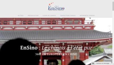 Site internet de Ensino