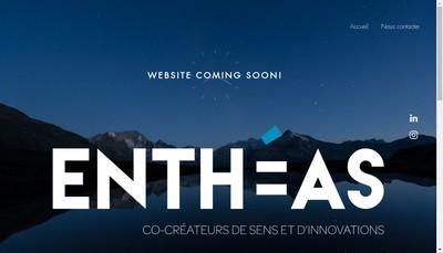 Site internet de Entheas