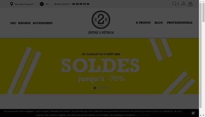 Site internet de Entre 2 Retros