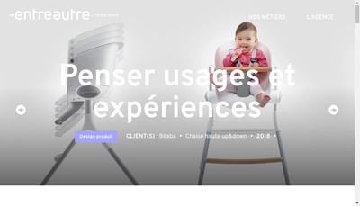 Site internet de Entreautre