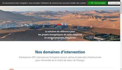 Site internet de Arverne Drilling