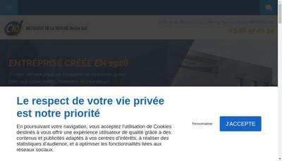 Site internet de Entrepot de la Bruche Muller SARL