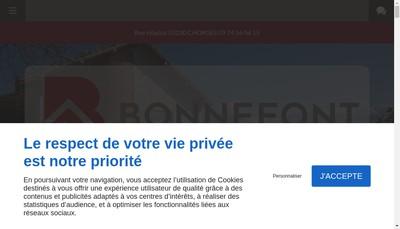 Site internet de See Bonnefont