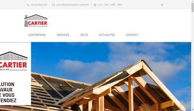 Site internet de Entreprise Cartier