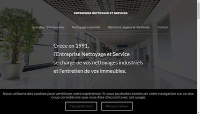 Site internet de Entreprise Nettoyage et Service