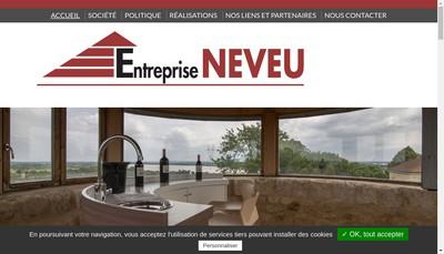 Site internet de Entreprise Neveu