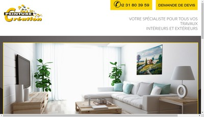 Site internet de Peinture Creation SARL