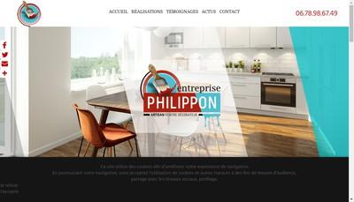Site internet de SARL Philippon