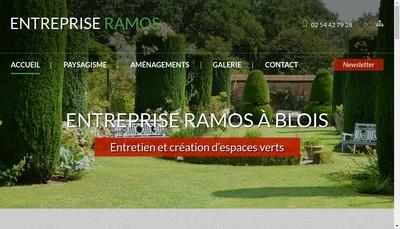 Site internet de Ramos Paysage