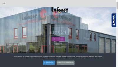 Site internet de Lafosse Genie Climatique