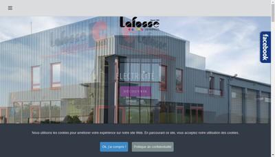 Site internet de Lafosse Electricite