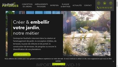 Site internet de Sos Jardinage Service