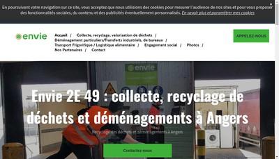 Site internet de Envie 2E 49