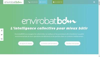 Site internet de Envirobat-Bdm