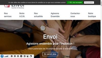 Site internet de Envoi-Ops