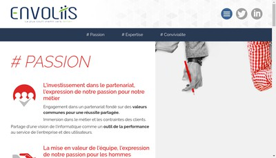 Site internet de Envoliis