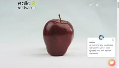 Site internet de EOLIA Software