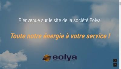 Site internet de Eolya