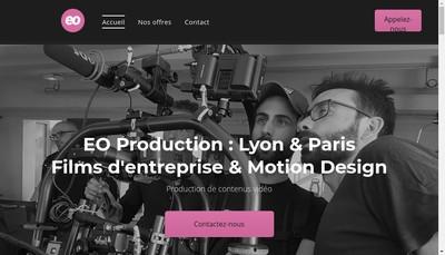 Site internet de Eo Production