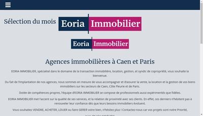 Site internet de Agence Bleu Marine Immobilier