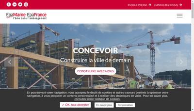 Site internet de Epa Marne